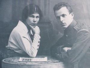 Emma and Jakob Schoenbaum, Bucharest, ca. 1915